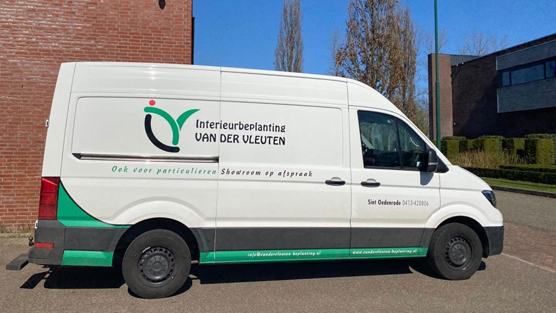 Bedrijfsbus van der Vleuten-onderhoud