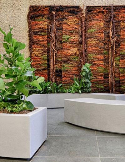 Biophilic Design plantenbakken van der Vleuten