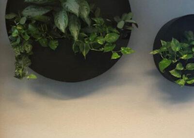 Stalen ronde maatwerkplanter
