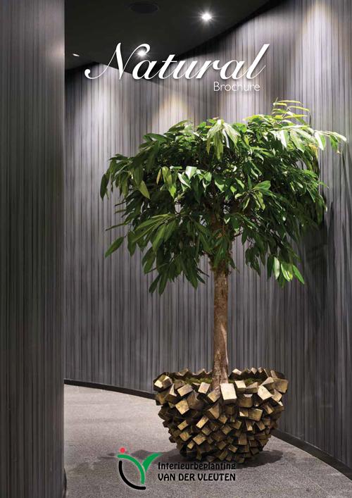 Natural brochure cover